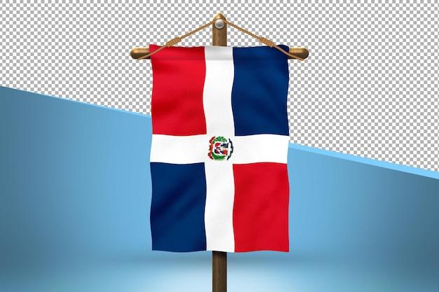 ドミニカ共和国のハングフラッグデザインの背景