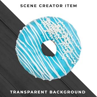 Пончик объект на прозрачном psd