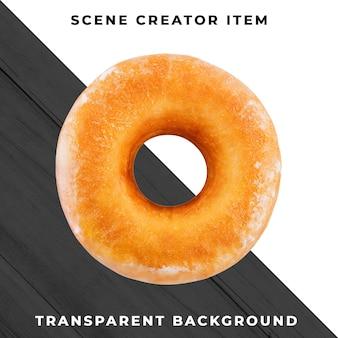 透明なpsd上のドーナツオブジェクト