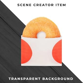 투명 psd에 도넛 개체