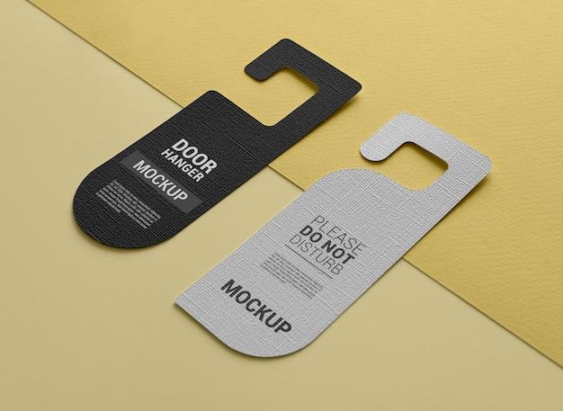 Door hanger mockup design