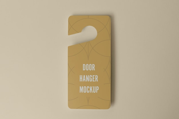Door hanger for privacy