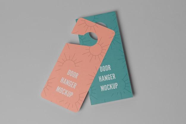 Door hangers for privacy
