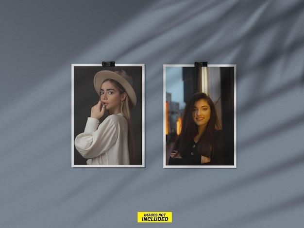 Двойной макет фото