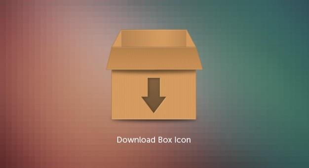 Download icon box