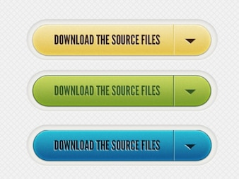 Download files buttons PSD material