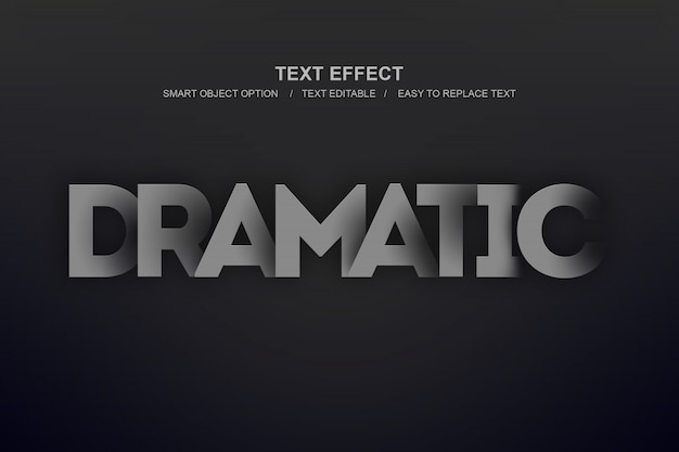 Dramatic layer effect