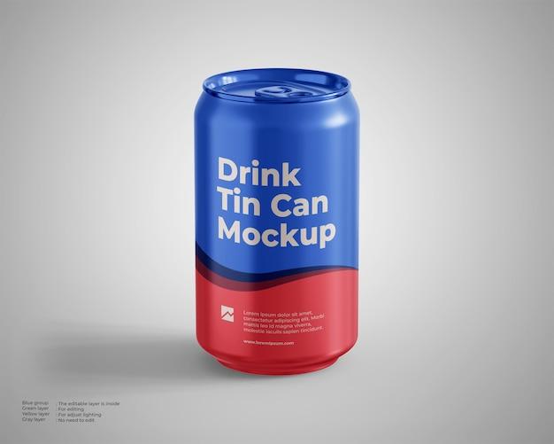 음료 깡통 모형