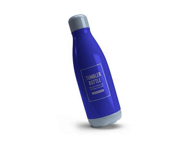 Drinking tumbler bottle mockup