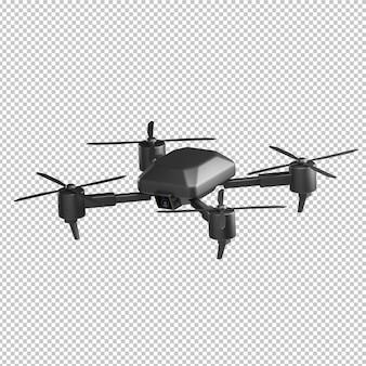 Drone 3d illustration