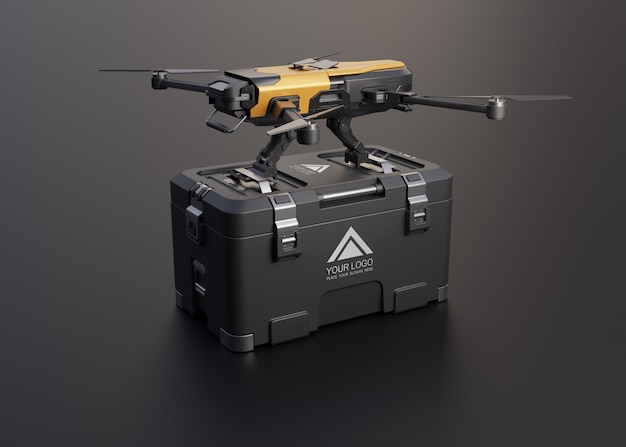 Drone for delivery service