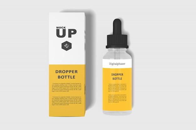 Dropper bottle mockups