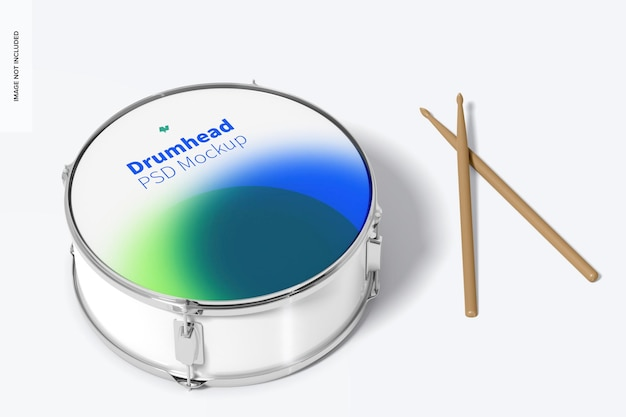 Мокап drumhead