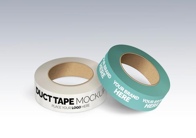 ダクトテープのモックアップ