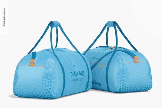 Мокап спортивных сумок