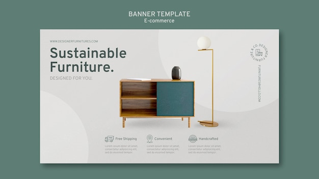 E commerce banner template