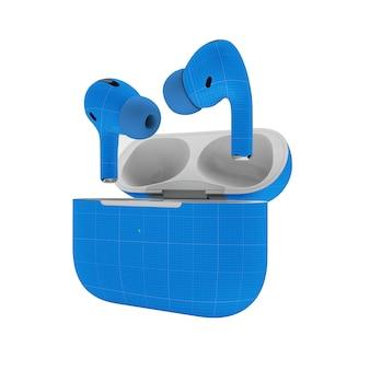 이어폰 모형
