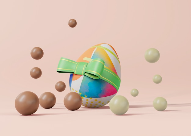Easter concept mock-up