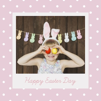 Easter cover mockup