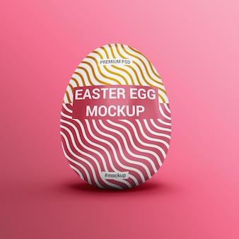 Easter egg mockup design