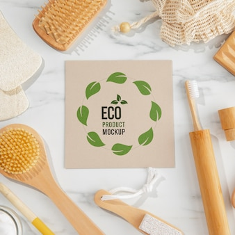 Eco friendly concept mock-up