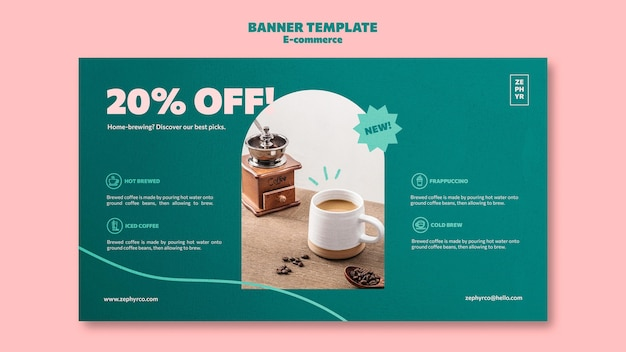 Ecommerce banner template