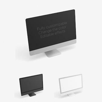 Editable imac presentation