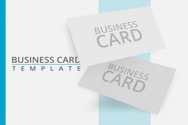 Editable mockup template business card for advertising, social media branding, preview, and many and many more