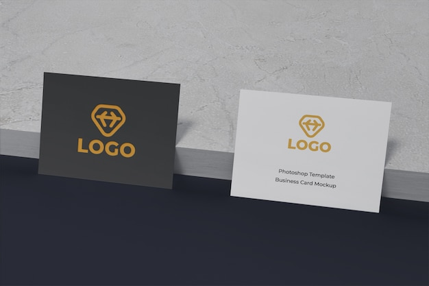 Редактируемый современный и чистый макет дизайна визитной карточки