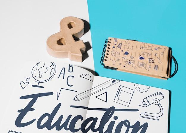 Education mockup