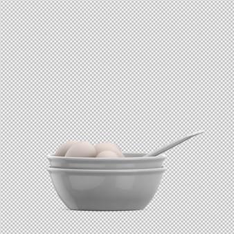 Eggs 3d render