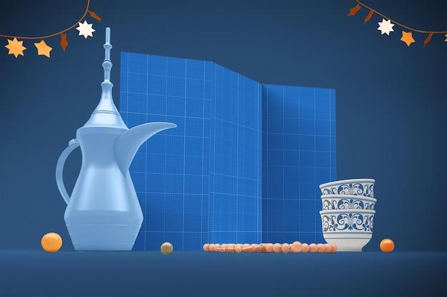 Eid brochure mockup