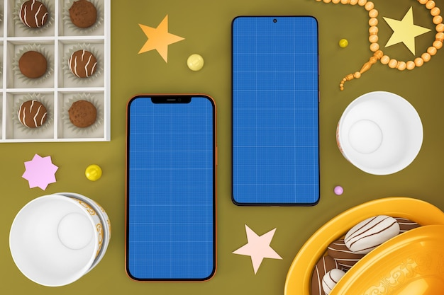 Eid smart phones v2 mockup