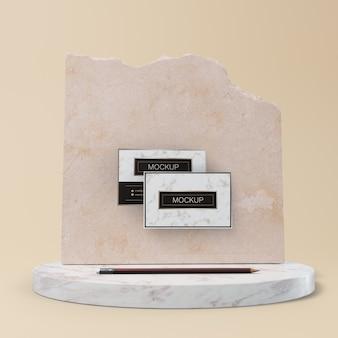 Elegant branding concept mock-up