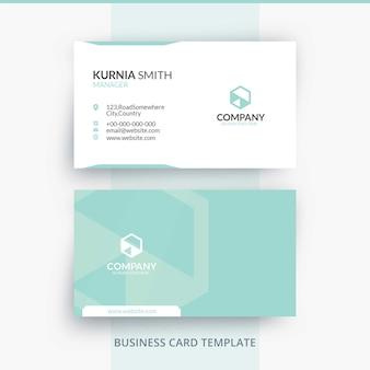 Элегантный яркий шаблон визитной карточки бренда
