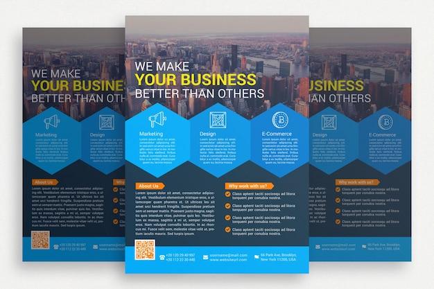Elegant business brochure