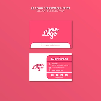 Elegant business card pack