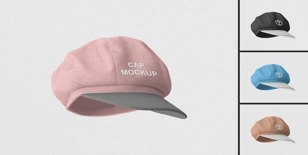 Elegant cap mockup