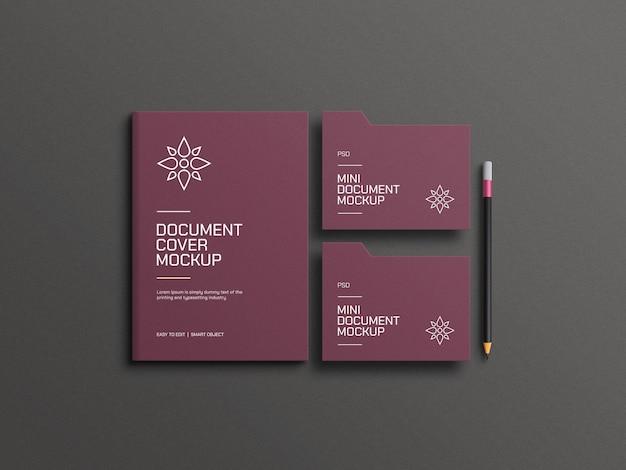 Элегантный макет документа
