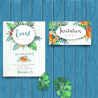 Elegant event invitation template