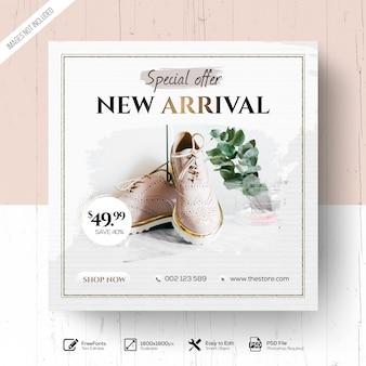 Elegant fashion new arrival promotion