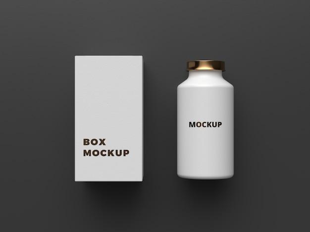 Elegant packaging mockup