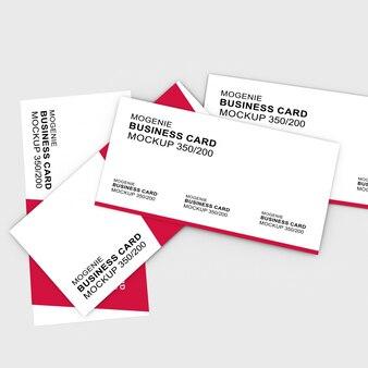 Elegent красивый макет визитной карточки