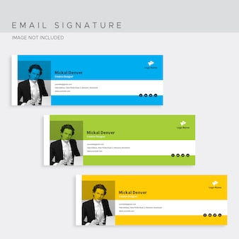 Подпись электронной почты