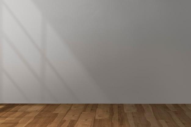 빈 방 벽 목업 psd 산업 인테리어 디자인