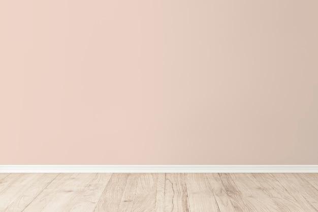 Mockup di parete della stanza vuota psd interior design moderno