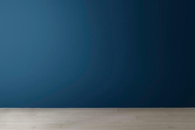 Empty room wall mockup psd modern interior design