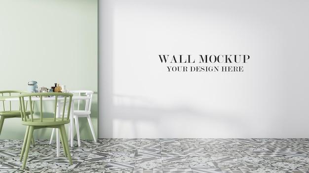 Макет пустой стены для ваших текстур