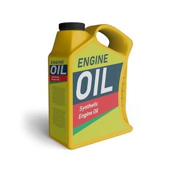 エンジンオイルジェリカンプラスチックモックアップ
