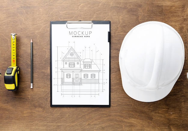Engineering tools with clipboard mock-up